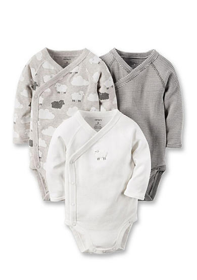 Carter's® 3-Pack Long-Sleeve Bodysuits