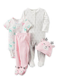Carter's® 4-Piece Babysoft Take-Me-Home Set