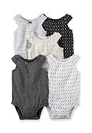 Carter's® 5-Pack Tank Top Bodysuits