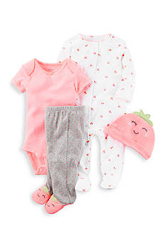 Carter's® 4-Piece Neon Take-Me-Home Set