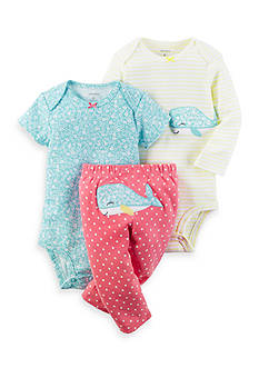 Carter's® 3-Piece Little Character Bodysuit And Pant Set