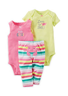 Carter's® 3-Piece Crab Pants Set