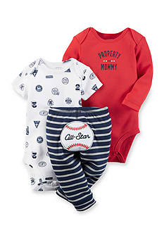 Carter's 3-Piece Little Character Bodysuits And Pant Set