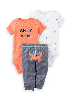 Carter's® 3-Piece Neon Little Character Set Baby/Infant Boys