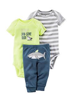 Carter's 3-Piece Shark Pants Set