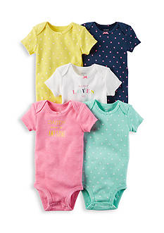 Carter's® 5-Pack Short-Sleeve Original Bodysuits