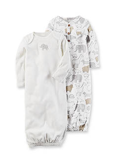 Carter's 2-Pack Babysoft Heathered Sleeper Gowns