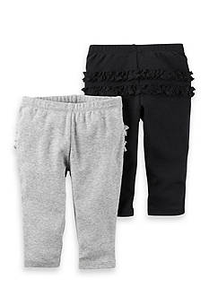 Carter's® 2-Pack Ruffle Pant Set