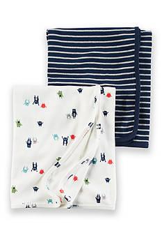 Carter's 2-Pack Babysoft Swaddle Blankets