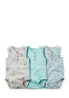 Carter's® 3-Pack Floral Print Bodysuits