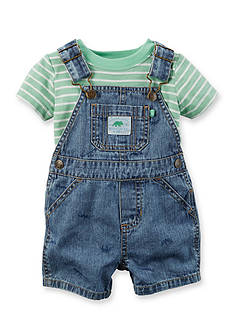 Carter's® 2-Piece Jean Overall Set