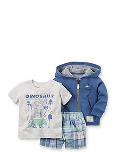Carter's® 3-Piece 'Fossil Expert' Short Set