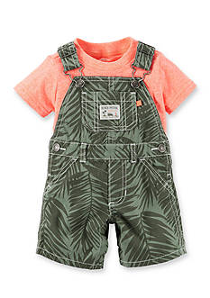 Carter's® 2-Piece Print Shortalls Set