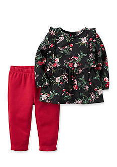 Carter's® 2-Piece Floral Top And Leggings Set