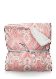 Carter's Sherpa Blanket - Aztec Pink