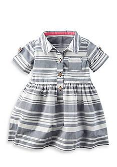 Carter's 2-Piece Striped Poplin Dress Set