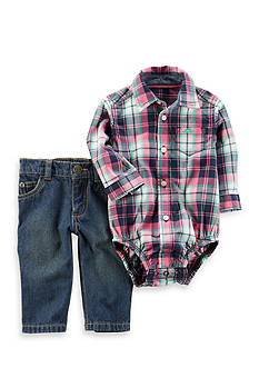 Carter's 2-Piece Button-Up and Pant Set