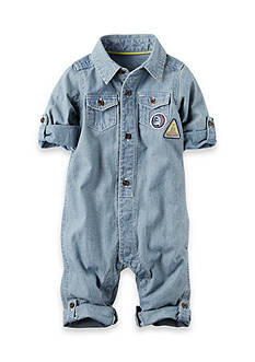 Carter's Chambray Jumpsuit