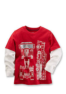 Carter's Firetruck Graphic Tee