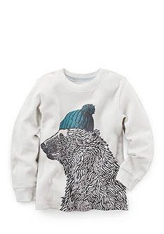 Carter's Long-Sleeve Bear Graphic Tee