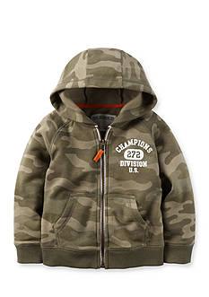 Carter's Camo Fleece Zip-Up Hoodie