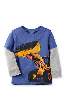 Carter's Long Sleeve Construction Tee