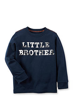 Carter's® Infant Long Sleeve Little Brother Tee