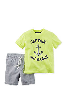 Carter's® 2-Piece Anchor Short Set