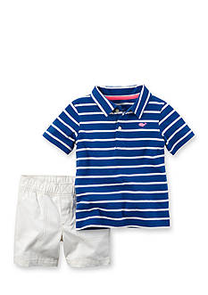Carter's® 2-Piece Stripe Top and Short Set