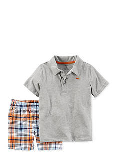Carter's® 2-Piece Polo and Short Set
