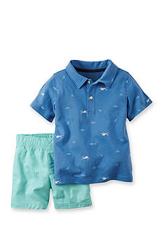 Carter's® 2-Piece Shark Top & Short Set