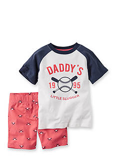 Carter's® 2-Piece Baseball Short Set