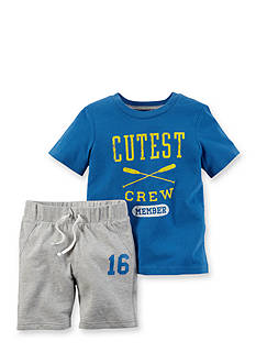 Carter's® 2-Piece 'Cutest Crew Member' Short Set