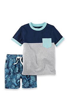 Carter's® 2-Piece Pocket Tee and French Terry Short Set