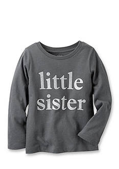 Carter's Long-Sleeve Little Sister Graphic Tee