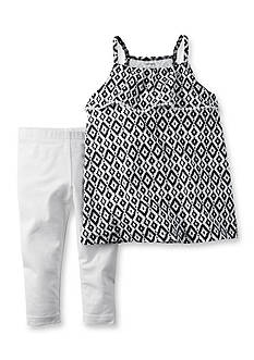 Carter's® 2-Piece Print Top and Pant Set