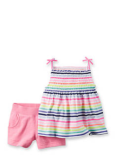 Carter's® 2-Piece Stripe Shorts Set