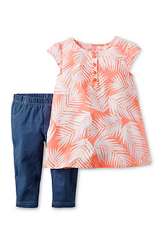 Carter's® 2-Piece Leaf Top & Pant Set