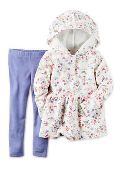 Carter's® 2-Piece French Terry Hoodie & Legging Set