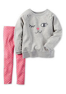 Carter's 2-Piece French Terry Pullover & Legging Set