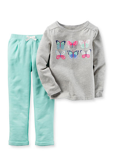 Carter's® 2-Piece Top and Sweatpant Set