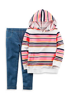 Carter's® 2-Piece Hoodie And Legging Set