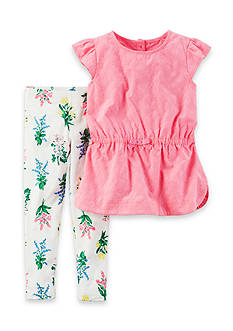 Carter's® 2-Piece Floral Tunic and Leggings Set