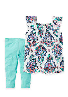 Carter's® 2-Piece Paisley Top and Capri Set