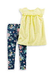 Carter's® 2-Piece Top And Floral Legging Set