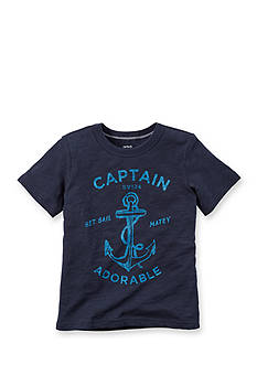 Carter's® 'Captain Adorable' Tee Toddler Boys