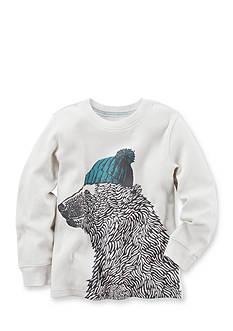 Carter's Long-Sleeve Bear Graphic Tee Toddler Boys