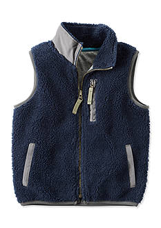 Carter's Sherpa Vest Toddler Boys