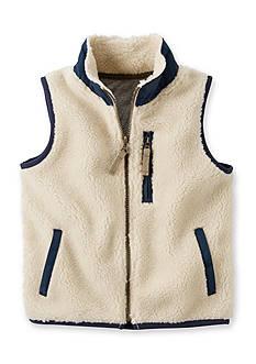Carter's Sherpa Vest Toddler Boys