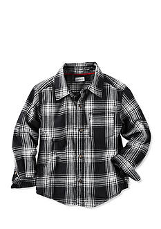 Carter's Plaid Flannel Button Front Shirt Toddler Boys